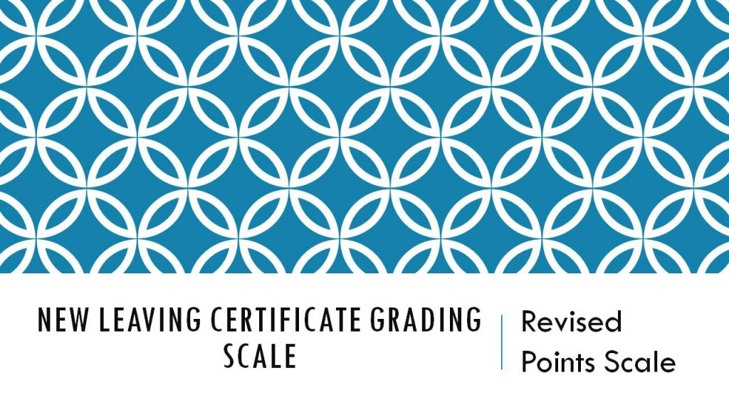 Leaving Cert Grading Scale - Powerpoint