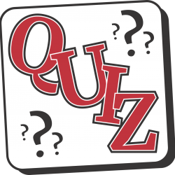 First Year Quiz: Tuesday 16th January