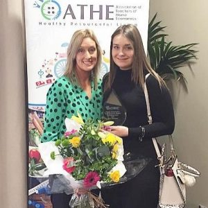 Daisy O'Connor, Class of 2019, Awarded Home Economics Prize
