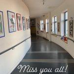 Empty corridor St Dominic's College