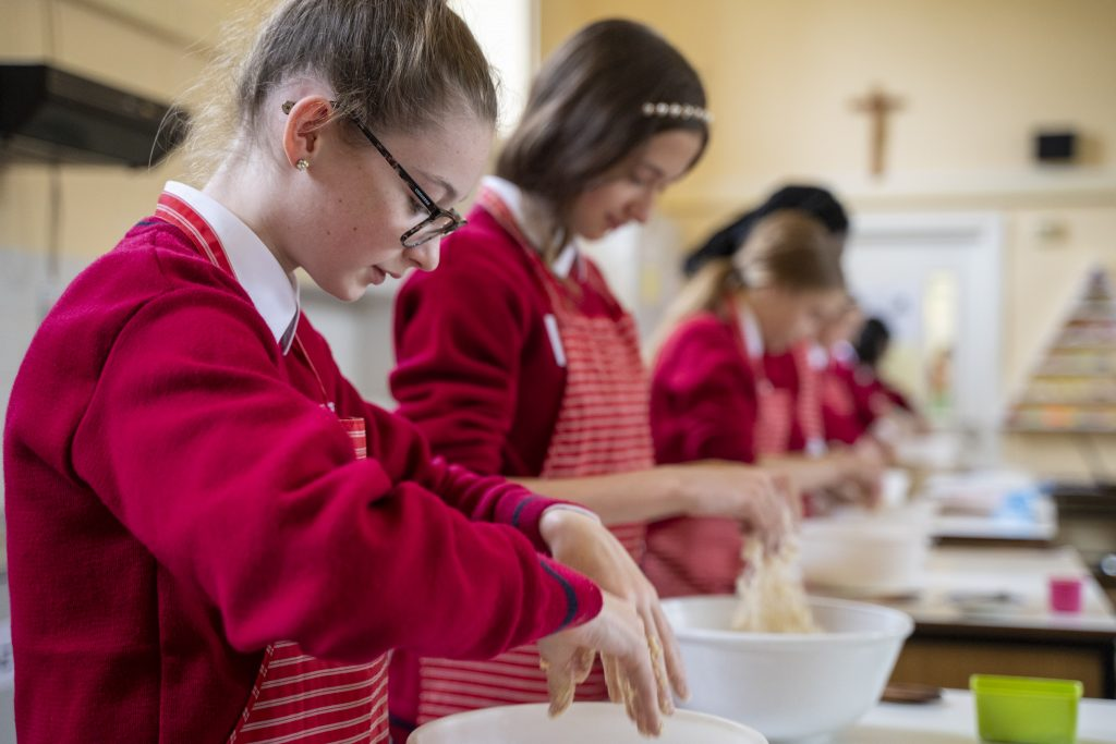 St Dominic's Students Baking