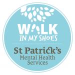 blue walk in my shoes logo