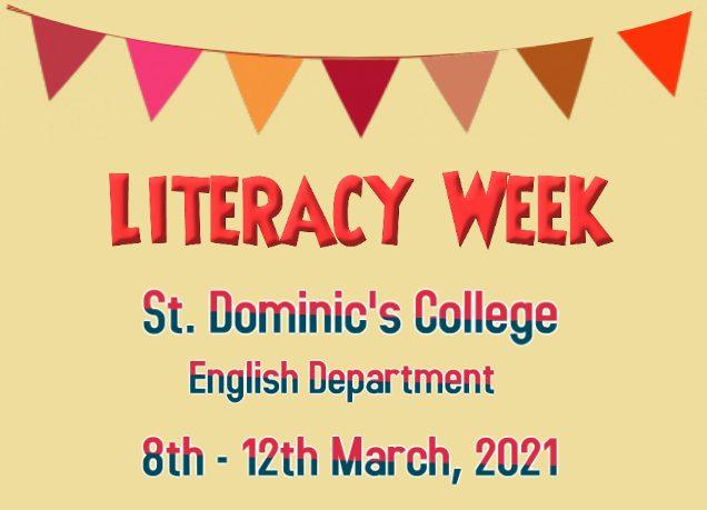 Literacy Week March 2021