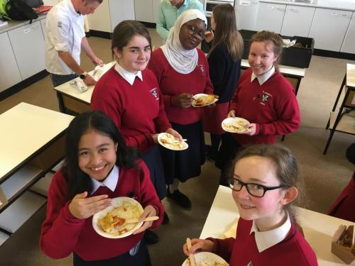Student Council Food Tasting March 2020